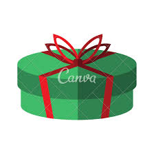 gift box with ribbon gift box with ribbon bow icons by canva