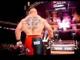 svr 2011 brock lesnar entrance my caw with current attire and