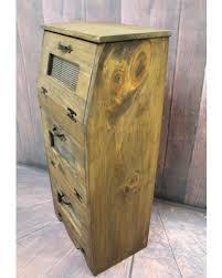 wooden bin deal alert wood bread box potato bin vegetable storage