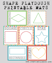 free printable shape playdough mats learning shapes playdough mats over the big moon