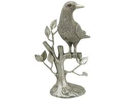 silver bird table ornament vintage silverware for sale ac silver
