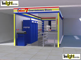 Convenience Store Floor Plans Convenience Store Bee Smart Food Cart And Convenience Store