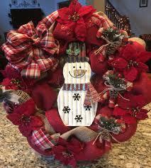 christmas 2016 burlap u0026 snowman wreath for burlap wreath making