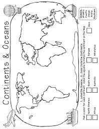 geography ocean worksheets click here continents and oceans pdf
