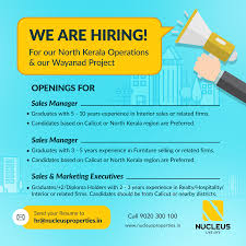 Interior Design Sales Jobs by Nucleus Premium Properties Linkedin