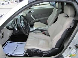 nissan 350z interior parts frost leather interior 2006 nissan 350z touring roadster photo