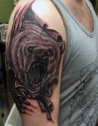 bear tattoos for men bear tattoos tattoo and animal tattoos