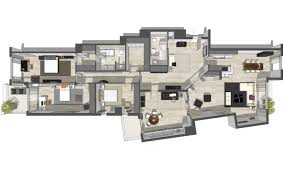 3d floor plan 3d apartment visualisation