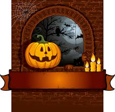 vector halloween halloween cartoon background 01 vector free vector 4vector