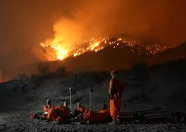 Definition For Wildfire by What It U0027s Like Being An Inmate Firefighter Business Insider