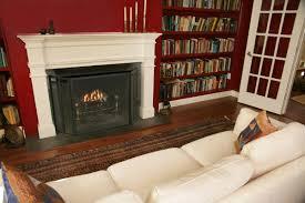 wood fireplace screens