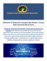 car insurance agency in san antonio by car insurance san antonio issuu