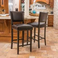 bar stools wood and leather wood counter bar stools for less overstock com