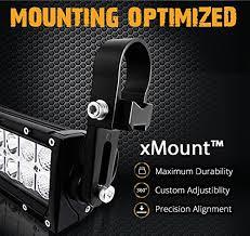 roll bar mount led light opt7 xmount 1 5 mounting bracket cls pair for led work light bar