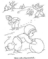 kids works winter coloring pages coloring pages kids free