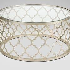 Quatrefoil Side Table Glass Quatrefoil Base Table Products Bookmarks Design