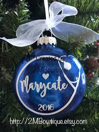 nurse gift nursing student ornament free personalization