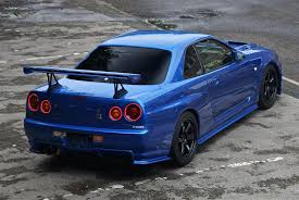 blue nissan skyline used 1999 nissan skyline r34 for sale in west yorkshire pistonheads