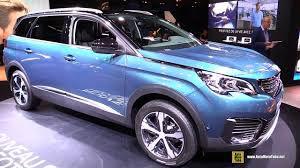peugeot mpv 2017 2017 peugeot 5008 exterior and interior walkaround debut at