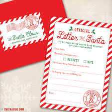 official letters from santa new letter to santa kits are here chickabug