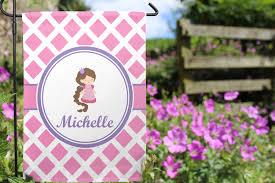 Outside Flag Diamond Print W Princess Garden Flag Personalized Potty Patty