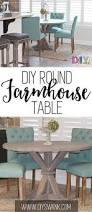 Kitchen Round Tables by Diy Round Farmhouse Table Round Farmhouse Table Farmhouse Table
