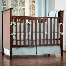 Blue Crib Bedding Set Solid Robin S Egg Blue 3 Crib Bedding Set Carousel Designs