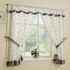 kitchen astonishing grey and white kitchen curtains curtains with