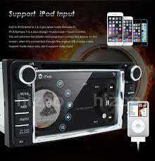fit for toyota in dash stereo car dvd player gps navigation ipod