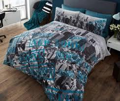 New York Bed Set Aerial Photo New York Bedding Duvet Comforter