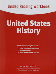 amazon com united states history guided reading workbook survey