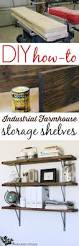 farmhouse flair diy wood storage shelf how to diy wood shelves