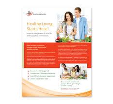 Health Brochure Templates healthcare management flyer template
