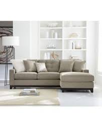 Sectional Sofas With Chaise by Clarke Fabric 2 Pc Sectional Sofa With Chaise Custom Colors