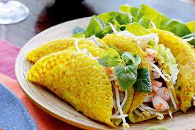 recettes de cuisine vietnamienne crêpe vietnamienne farcie au porc et aux crevettes cuisine