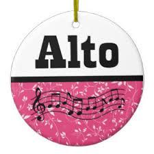 choir alto ornaments keepsake ornaments zazzle