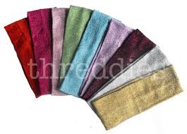 glitter headbands 7 best threddies glitter headbands images on