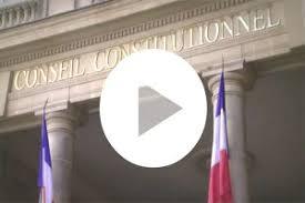 si e du conseil constitutionnel présentation générale