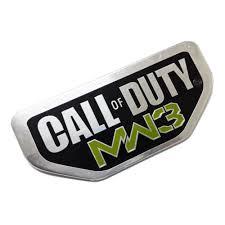 call of duty jeep emblem 2pcs aluminum call of duty modern warfare 3 for jeep wrangler emblem