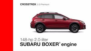 2017 subaru crosstrek colors 2017 subaru crosstrek 2 0i premium and limited overview youtube