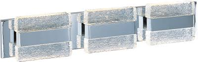 maxim 39623ibpc ice contemporary polished chrome led 3 light