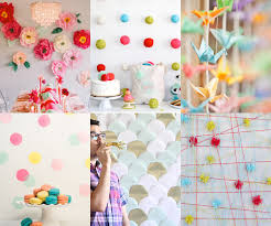 diy photo backdrop simple diy backdrops mollie makes