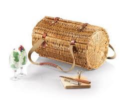 wine picnic baskets vida by letty