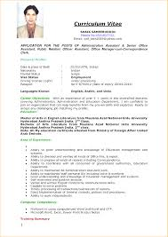 curriculum vitae for job application pdf simply exle of curriculum vitae 6 writing a cv for a job format