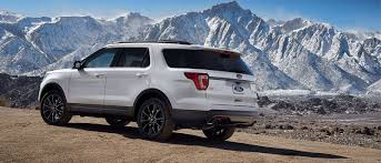 Ford Explorer Off Road Parts - explore the 2017 ford explorer at beach ford today