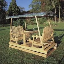 wooden gliders hayneedle
