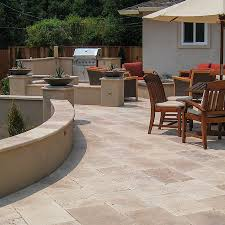walnut travertine backsplash patios walkways porches pool decks travertine collection