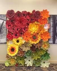 wedding backdrop flower wall paper flower backdrop paper flowers wall paper flower