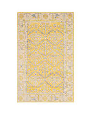 Yellow Area Rug 5x7 by Area Rugs Belk