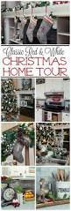 easy christmas home decor ideas country living christmas home tour christmas decor holidays and